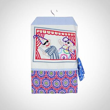 Picture of Araguz hand-embroidered laundry bag