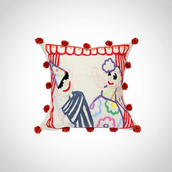 Picture of Araguz design cushion, Size: 43x43cm