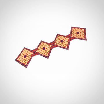 Picture of 'Diamond Shape' table runner