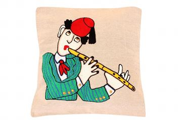 Picture of  Musicians cushion in Dak (Flute)    49 *51